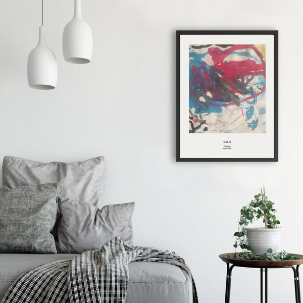 Art Prints made with your Kids' Drawings