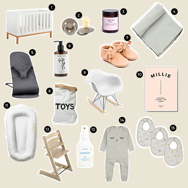 New Mum & Baby Wishlist