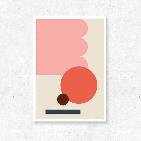 Abstract Print - Scallop