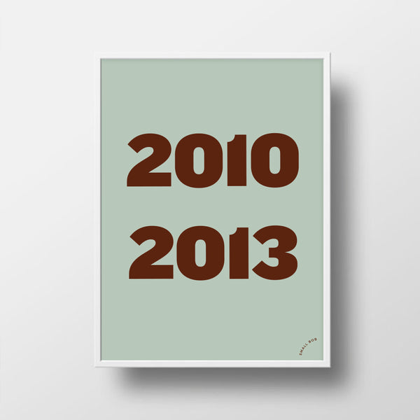 Kids Print - Special Years - Small Bob