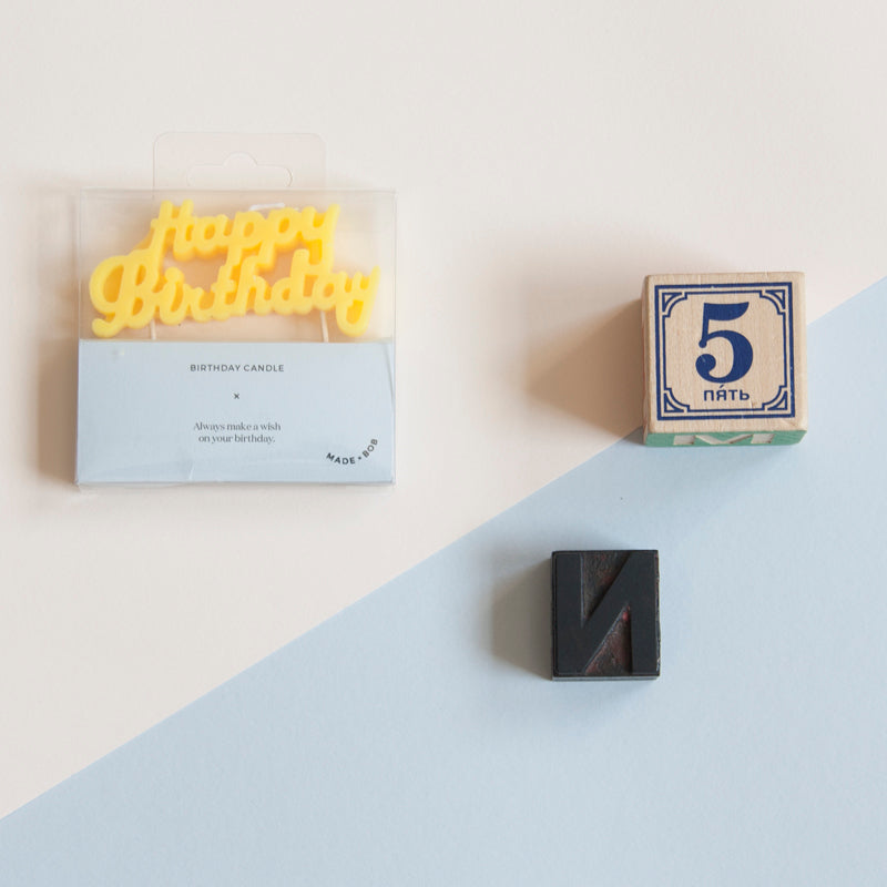 Baby's first birthday is one to remember so their first birthday candle should be kept as a keepsake. Make this simple 1st year gift part of a gift set edited by you, by adding your own choices you can make a special and thoughtful present.