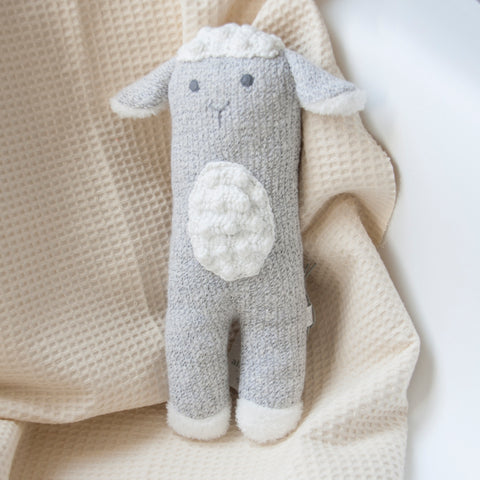 Lamb knit toy - Small Bob