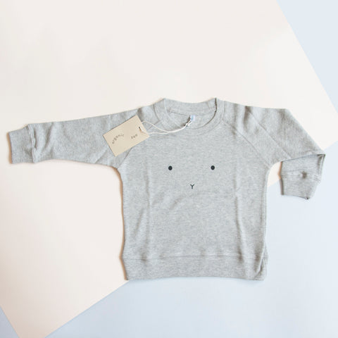 Organic Zoo is a well acclaimed brand for children which has made a name for itself with their playful, minimal and original designs. Perfect as a first birthday gift for baby, the bunny sweatshirt is unisex and unseasonal, ready to mix and match.