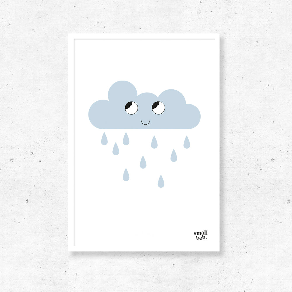 Nursery Art - Cloud Print
