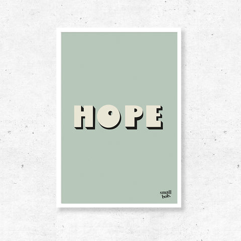 Wall Art - HOPE Print