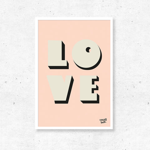 Wall Art - LOVE Print