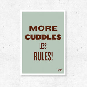 Kids Print - More Cuddles
