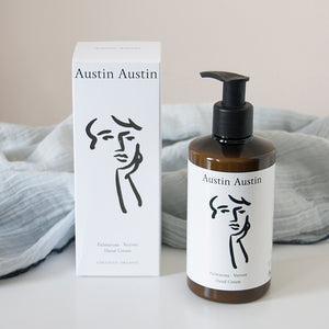 Austin Austin is the ultimate brand for natural and organic products and the Palmarosa & Vetiver hand cream is simply delightful to try. This hand cream looks and smells good so is ideal gift for the natural and organic lover!