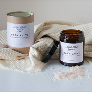 Bath Salts - Rose & Patchouli - Small Bob
