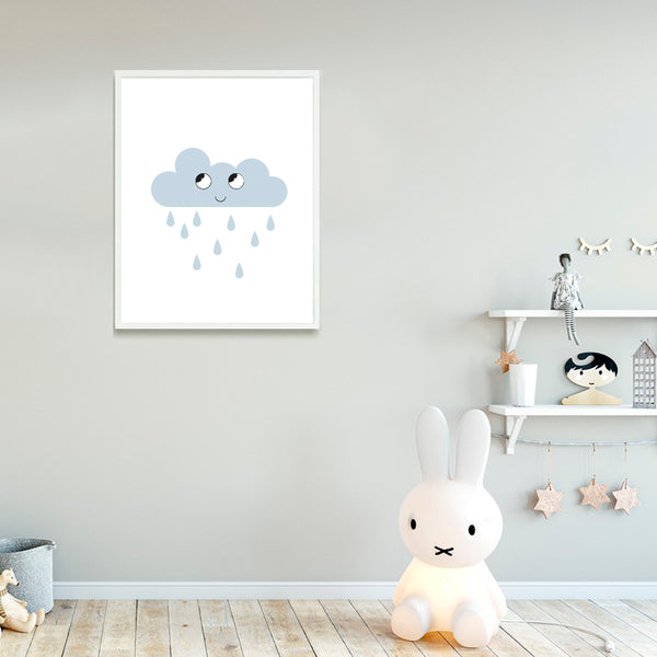 Nursery Art - Cloud Print - Small Bob