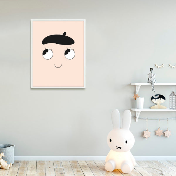 Nursery Art - French Print - Small Bob