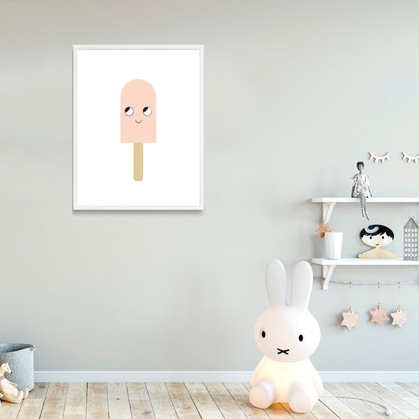 Nursery Art - Ice Cream Print - Small Bob