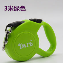 Automatic telescopic leash