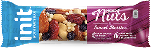 Init Mixed Nuts & Sweet Berries Nut & Fruit Bars