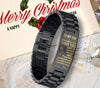 (fs9) Family bracelet black - To My Son, love mom