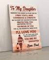 (cv341) Firefighter Poster - to my daughter. I'll love you
