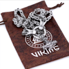 Viking Dragon Head With Thor