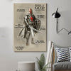 (cv111) knight templar Poster - armor of god
