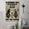 (cv163) biker Poster - call on me brother