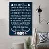 (cv179) family poster - to my son