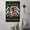 (cv209) soldier poster - once a soldier always a soldier