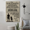 (cv263) family poster - to my daughter
