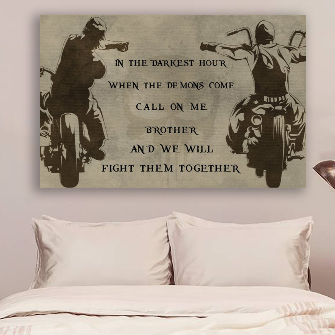 no frame CALL ON ME BROTHER Wall Decor Poster FAMILY POSTER