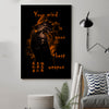 (cv28) Samurai Poster - your mind is your best weapon