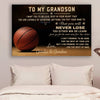 (CV564) Poster Basketball Gpa and Gma to Gson Never Lose