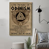(cv89) viking Poster - the heart of odinism