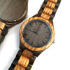 ENGRAVED WOODEN WATCH - to my grandson wherever your journey love grandpa 3