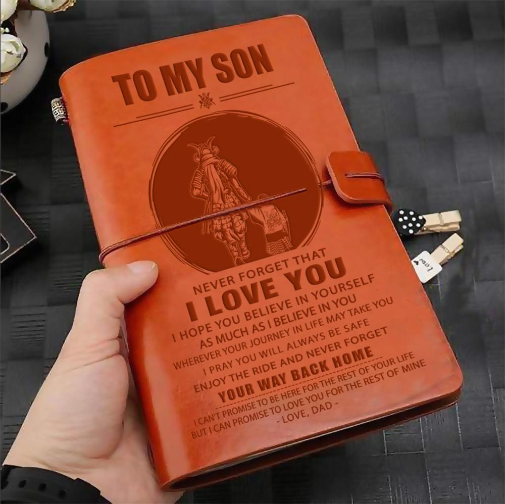 (JD3) SAMURAI JOURNAL - DAD TO SON - YOUR WAY BACK HOME