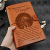 (JA67) KNIGHT TEMPLAR JOURNAL - DAD TO DAUGHTER - NEVER LOSE