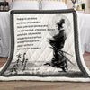 (QL315) samurai blanket - there is nothing