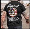 (TA116) Firefighter T-Shirt - Retired
