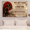 (DA50) Spartan poster - Dad to Son - Your way back home