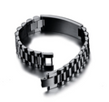 LVL BASEBALL BRACELET BLACK - TO MY SON - NEVER LOSE CT