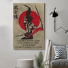 (cv254) samurai poster - i'm going to win