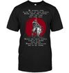 (TA110) Knight templar t shirt be without fear