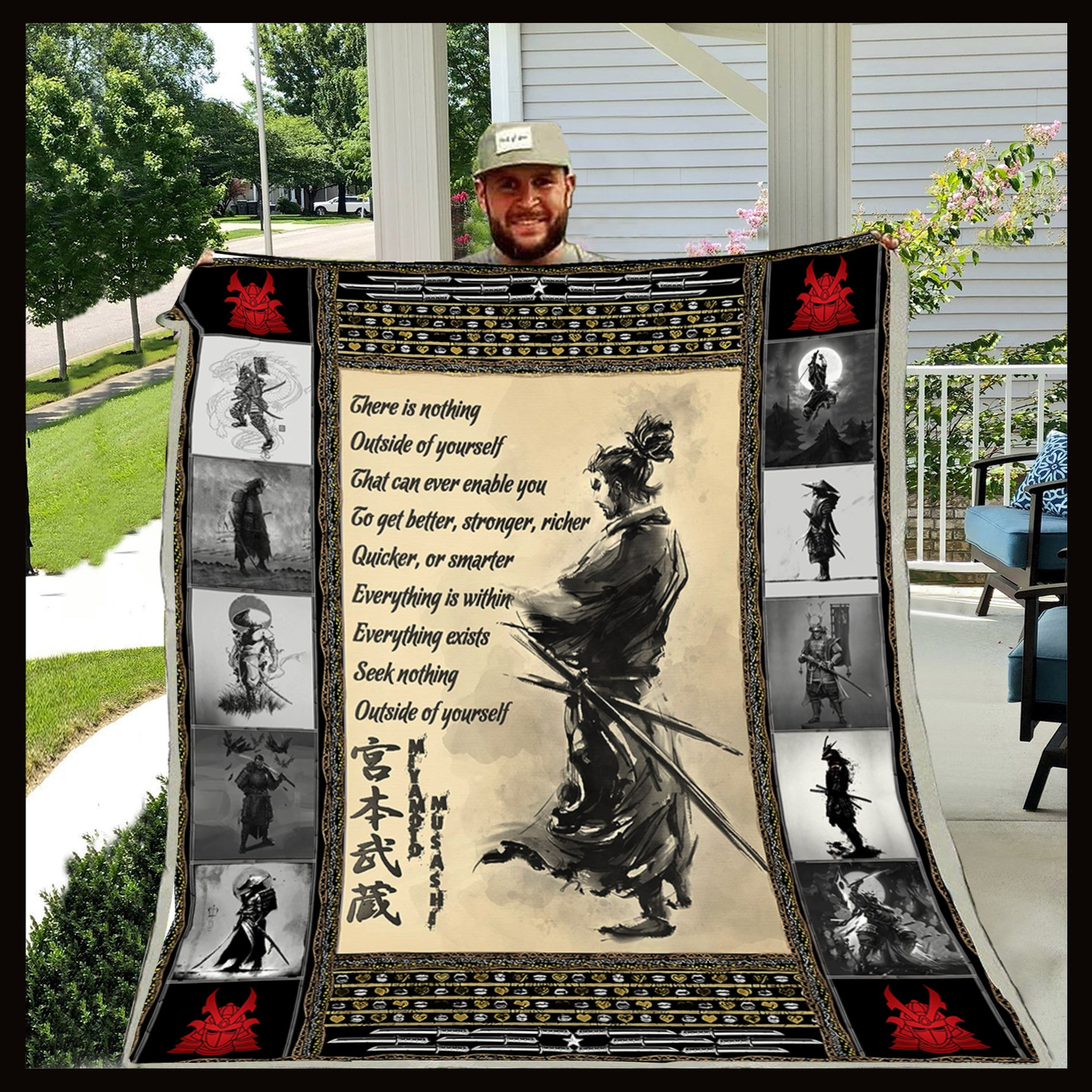 (QL184) SAMURAI BLANKET - THERE IS NOTHING
