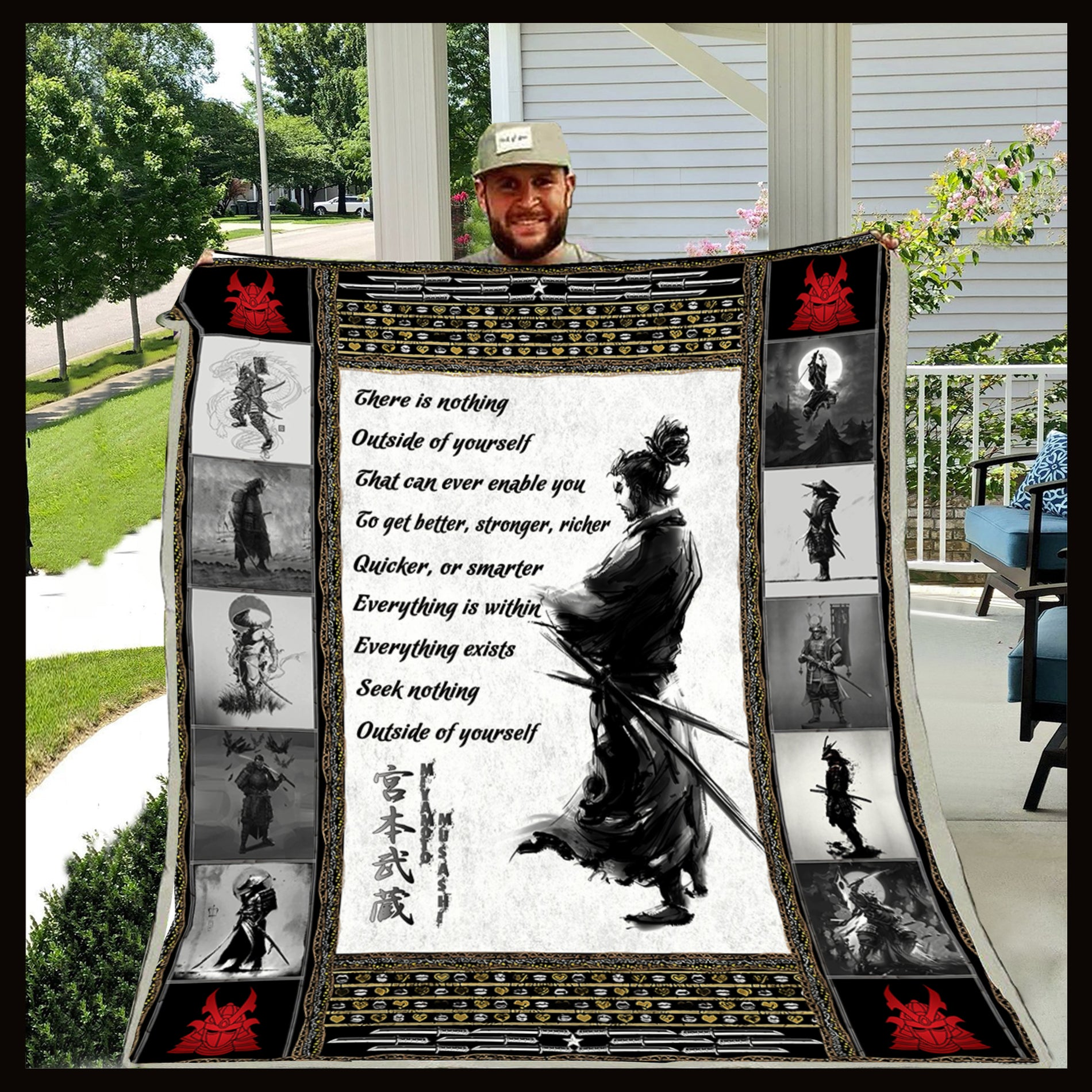 (QL186) SAMURAI BLANKET - THERE IS NOTHING