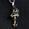 Soldier dragon necklace