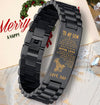 viking bracelet black (226)