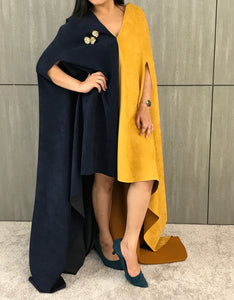 Sassy Royal Mustard Cape
