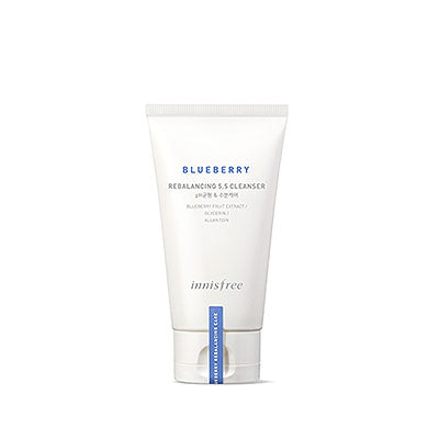 Innisfree blueberry rebalancing cleanser korean skincare