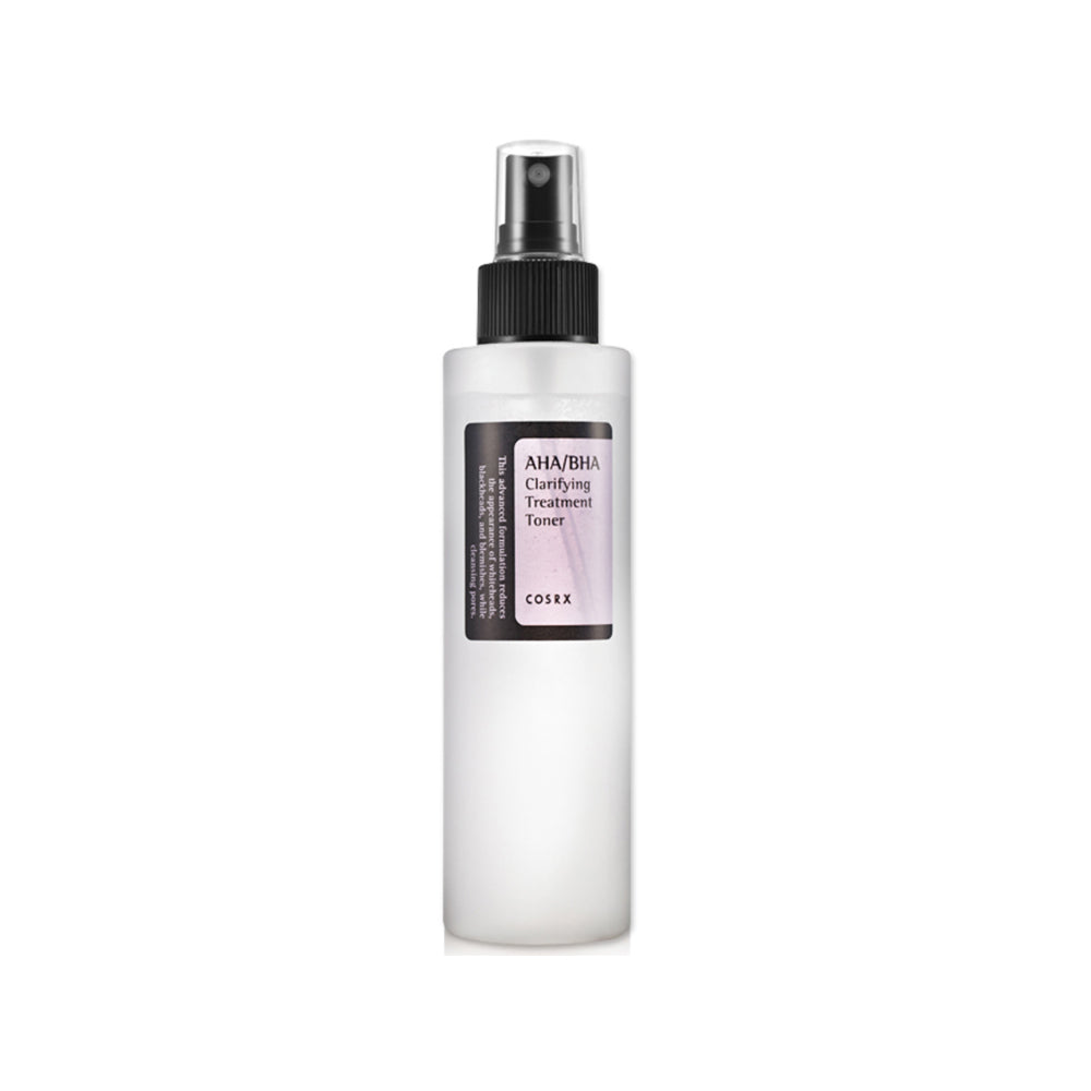 Korean skincare COSRX AHA/BHA Clarifying Treatment Toner
