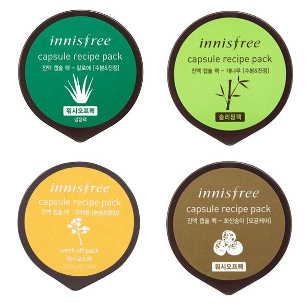 Korean skincare Innisfree Capsule Recipe Pack