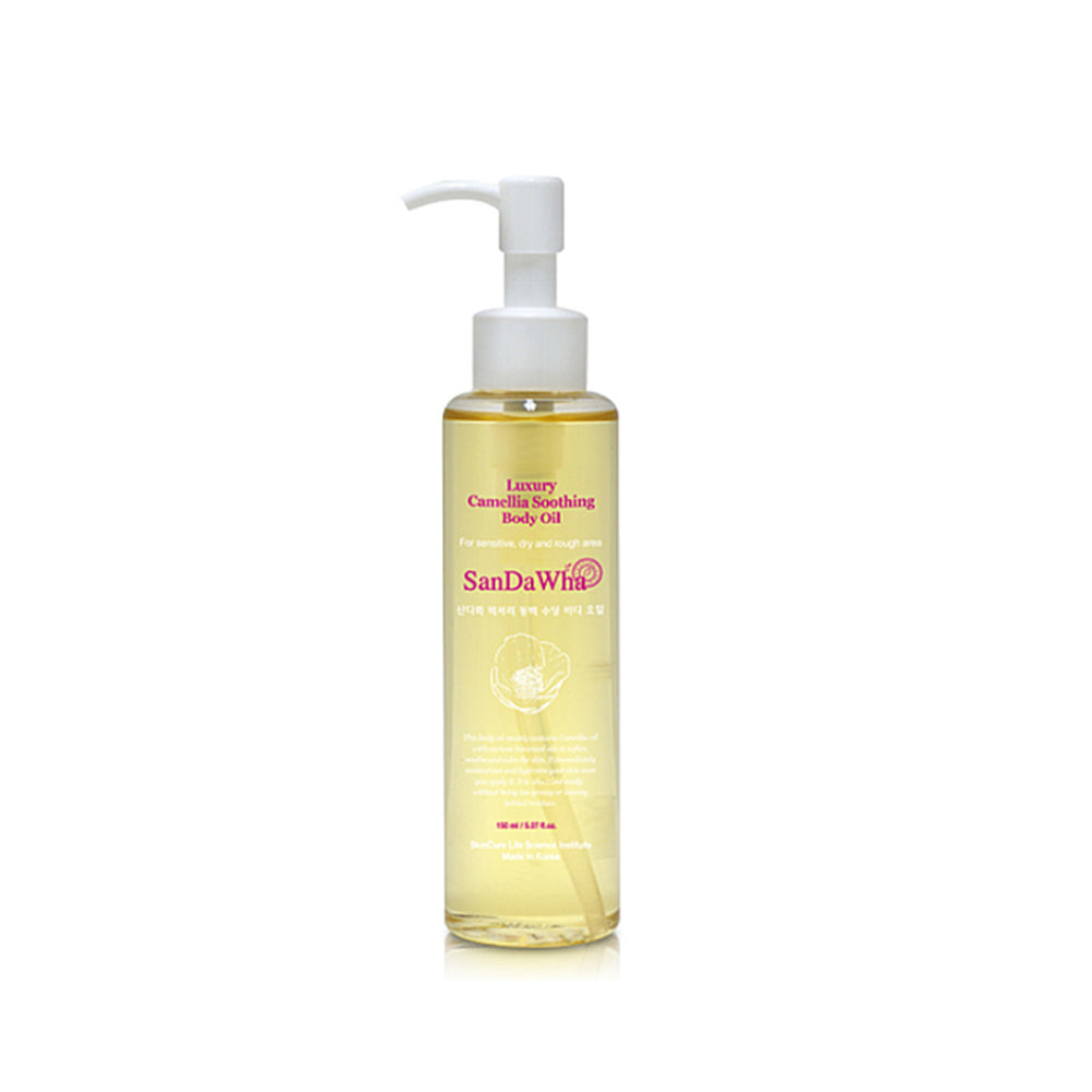 Korean skincare SanDaWha Camellia Body Oil