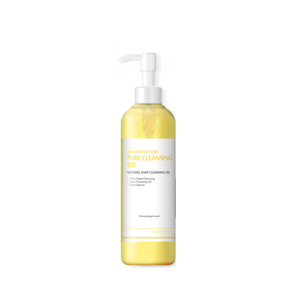 Korean Skincare - Pure Cleansing Oil by Manyo Factory