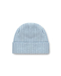 CHUNKY BEANIE Light Blue Melange - Santosh clothing
